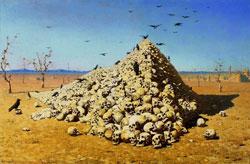 Апофеоз войны (В. Верещагин, 1871 г.)